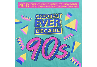 VARIOUS - Greatest Ever Decade:90s  - (CD)