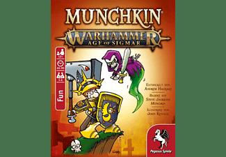 PEGASUS SPIELE Munchkin Warhammer Age of Sigmar Brettspiel Mehrfarbig