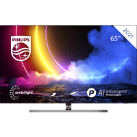 PHILIPS 65OLED856/12 65 Zoll 4K Smart Android OLED TV mit Ambilight
