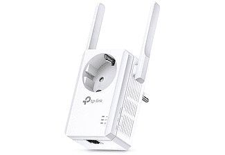 Amplificador WiFi - TP-Link WA860RE, 300 mbps, Enchufe, 2 Antenas, Blanco