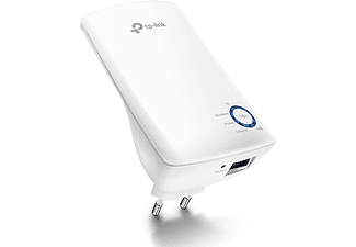 Amplificador WiFi - TP-Link WA850RE, 300 mbps, Modo AP, Puerto Ethernet, Blanco