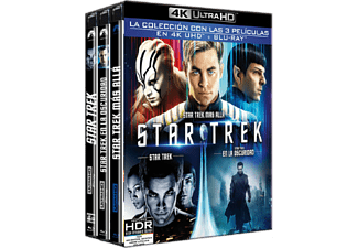 Pack Star Trek: Trilogía -  3 4K Ultra HD + 3 Blu-Ray