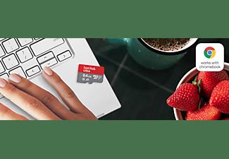SANDISK Ultra für Chromebooks, Micro-SDXC Speicherkarte, 64 GB, 120 MB/s