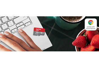 SANDISK Ultra für Chromebooks, Micro-SDXC Speicherkarte, 128 GB, 120 MB/s