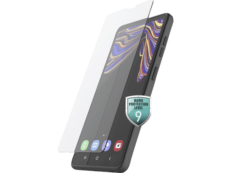 HAMA Premium Crystal Glass Schutzglas (für Samsung Galaxy XCover 5)