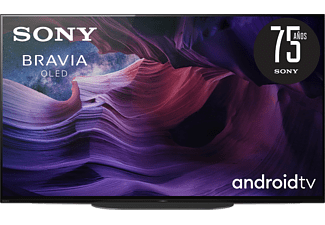 """TV OLED 48"""" - Sony KE48A9BAEP, Master Series, UHD4K, HDR, X1Ultimate, Acoustic Surface Audio, AndroidTv, Negro"""
