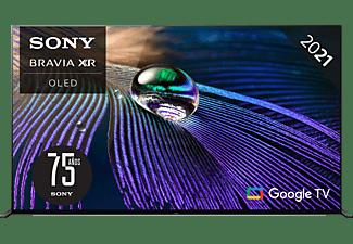 "TV OLED 65"" - Sony XR65A90JAEP, UHD4K, Procesador cognitivo XR, Smart Tv(Google Tv), Acoustic Surface+, Negro"
