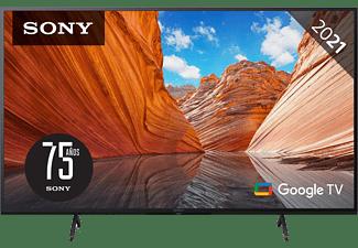 "TV LED 43"" - Sony KD43X81JAEP, UHD 4K, HDR, Smart Tv (Google Tv), X1, Triluminos, Control por voz, Negro"