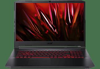 ACER Gaming Notebook Nitro 5 AN517-53-55TK, i5-11300H, 16GB, 512GB, GTX1650, 17.3 Zoll FHD 144Hz, Schwarz