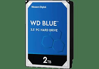 "Disco duro 2 TB - Western Digital WD Blue Desktop, SATA 6 Gb/s, 3.5"", Interno, Caché 64 MB, 5400 rpm, Azul"