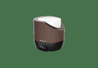Humidificador - Cecotec PureAroma 500 Smart Black Woody, 500 ml, 25 ml/h, 32 m², Luz LED, Temporizador, Negro