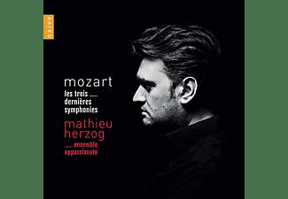 Ensemble Appassionato - MOZART. THE LAST THREE SYMPHONIES  - (CD)