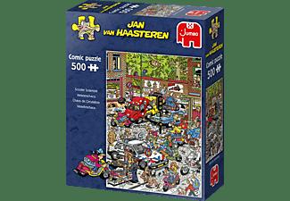 JUMBO Jan van Haasteren Traffic Chaos Puzzle Mehrfarbig
