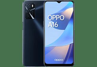 "Móvil - OPPO A16, Negro, 64 GB,  4 GB RAM, 6.51"" HD, MediaTek Helio P35, 5000 mAh, Android"