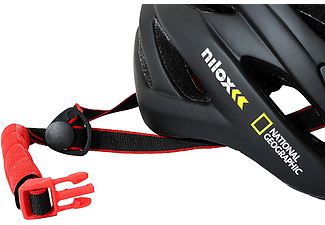 Casco - Nilox Nat Geo National Geographic, Para patinete eléctrico o bicicleta, Luz trasera, Negro