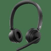 MICROSOFT Modern, On-ear Headset Bluetooth Schwarz