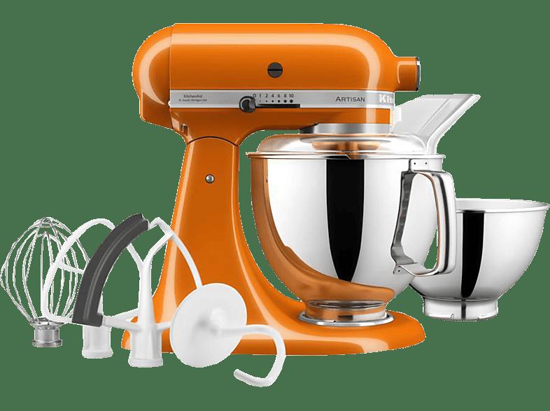 KITCHENAID 5KSM175PSEHY ARTISAN Küchenmaschine Honey Rührschüsselkapazität 4,8 Liter, 300 Watt