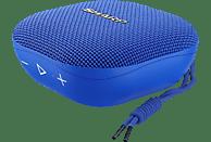 Altavoz inalámbrico - Sharp GX-BT60, 6 W, Bluetooth, Autonomía de 13 h, IP67, Azul