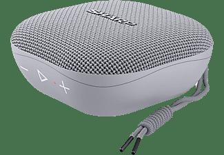 Altavoz inalámbrico - Sharp GX-BT60, 6 W, Bluetooth, Autonomía de 13 h, IP67, Gris