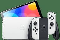 "Consola - Nintendo Switch OLED, 7"", Joy-Con, 64 GB, Blanco"