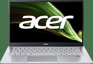 ACER Swift 3 (SF314-511-711G) mit Tastaturbeleuchtung, Notebook mit 14 Zoll Display, Intel® Core™ i7 Prozessor, 16 GB RAM, 1 TB SSD, Intel Iris Xe Grafik, Silber