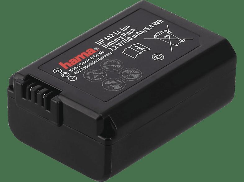 HAMA DP 391 Li-Ion Ersatzakku für Sony NP-FW50, 7.2 Volt, 750 mAh