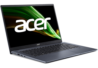 ACER Swift X (SF314-510G-5964) mit Tastaturbeleuchtung, Notebook mit 14 Zoll Display, Intel® Core™ i5 Prozessor, 8 GB RAM, 1 TB SSD, Intel Iris Xe MAX Grafik, Blau
