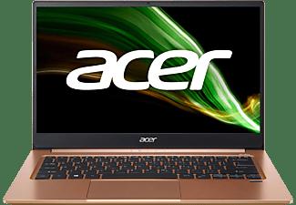 ACER Swift 3 (SF314-59-764W) mit Tastaturbeleuchtung, Notebook mit 14 Zoll Display, Intel® Core™ i7 Prozessor, 16 GB RAM, 1 TB SSD, Intel Iris Xe Grafik, Rosa