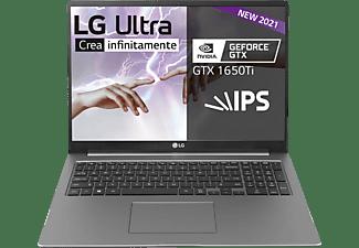 """Portátil - LG Ultra 17U70P-J.AA78B, 17"""" WQXGA, Intel® Core™ i7-1165G7, 16 GB, 512 GB SSD, GTX1650Ti, W10"""
