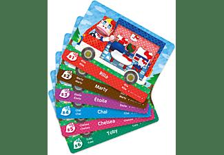 Animal Crossing: New Leaf + Sanrio amiibo-Karten 6er Pack