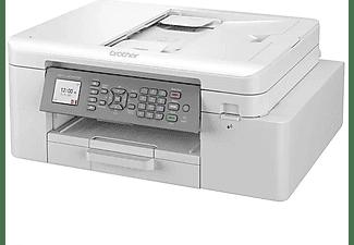 Impresora multifunción - Brother MFC-J4340DW, 20 ppm, Impresión Color/Monocromo, Wi-Fi, Fax, Escáner, Gris