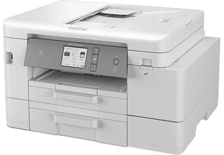 Impresora multifunción - Brother MFCJ4540DWXL, Inyección de tinta, 35ppm, USB, NFC, Ethernet, USB, Wi-Fi, Gris