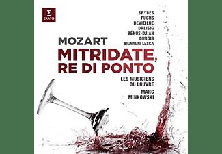 Spyres, Michael/Dreisig, Elsa/Devieilhe, Sabine - Mozart: Mitridate, Re di Ponto [CD]