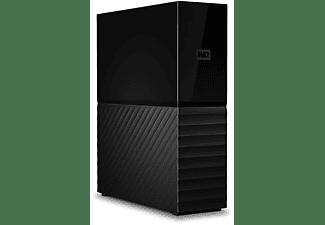 Disco duro externo 14 TB - WD My Book, Sobremesa, Compatible Mac, Protección con Contraseña, WD Backup, Negro