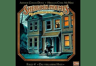 Holmes Sherlock - Sherlock Holmes - Folge 47-Das Verlassene Haus [CD]