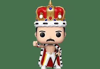 Figura - Funko  Pop! Rocks: Queen- Freddie Mercury King,  9.5 cm, Vinilo, Multicolor