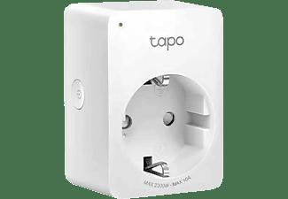 Enchufe inteligente - TP Link TAPO P100, WiFi, Bluetooth, Control remoto, Fácil instalación, Blanco