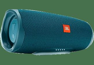 Altavoz portátil - JBL Charge 4, 30 W, Bluetooth, 7.500 mAh, Hasta 20 horas de reproducción, Azul