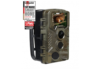 TECHNAXX Wildkamera TX-125 mit IR Funktion, 8MP, FHD, 25fps, IP56, 2.4 Zoll LCD, LED, Schwarz