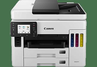 CANON Maxify GX7050 4-in-1 Druckkopf mit Schlauchsystem Multifunktionsdrucker WLAN Netzwerkfähig