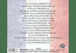 PIAF, EDITH - BAKER, JOSEPHINE - DIETRICH, MARLENE - BEAUTIFUL FRENCH CHANSON CLASS  - (CD)