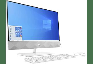 HP All-in-One PC Pavilion 27-d1007ng, i5-11500T, 16GB, 512GB, 1TB, MX350, 27 Zoll WQHD, Snow White