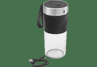 Batidora de vaso - WMF KÜCHENminis Mix on the go, 50 W, 0.3 l, 20.000 rpm, 1200 mAh, Plata
