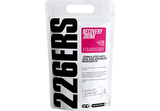 Suplemento alimenticio - 226ERS Recovery Drink, 1 kg, Fresa, L-Arginina, Creatina, Omega 3, Rosa