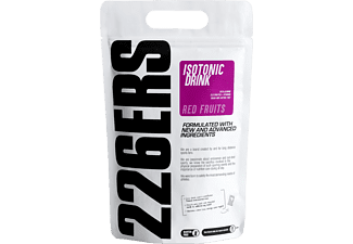 Suplemento alimenticio - 226 ERS Isotonic Drink, 1 kg, Red Fruits, Vegano, Sin Azúcar, Rojo