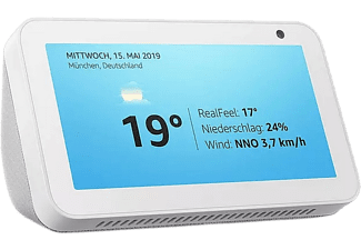 "Pantalla inteligente con Alexa - Echo Show 5 (1ª Gen), 5.5"", Sonido alta calidad, Controlador de Hogar, Gris"