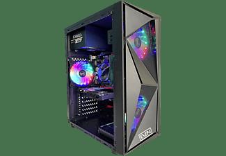 PC gaming - PC Clon AS B460, Intel® Core™ i5-10400F, 16 GB RAM, 480 GB SSD, GeForce GTX 1650, FreeDOS, Negro