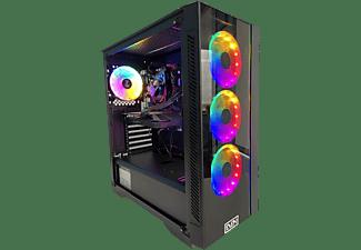 PC gaming - PC Clon AS B460, Intel® Core™ i5-10400F, 16 GB RAM, 480 GB SSD, GeForce GTX 1660 OC, FDOS, Negro