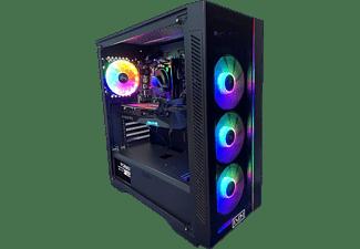 PC gaming - PC Clon AS B460, Intel® Core™ i7-10700F, 16 GB RAM, 1 TB SSD, GeForce RTX 3070 OC, FreeDOS, Negro
