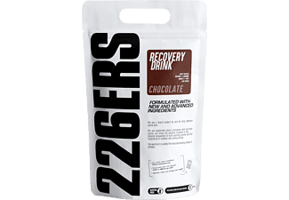 Suplemento alimenticio - 226ERS Recovery Drink, Chocolate, 250 mg L-Arginina, 1.5 g Creatina, Omega 3, Marrón